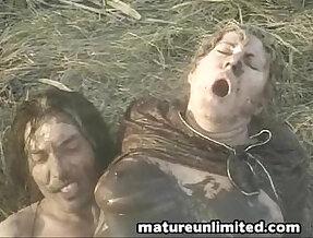 Dirty outdoor fuck