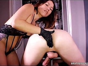 Prostate Play on cam with Kinky Dominatrix