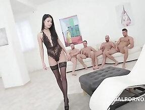 Super Hot Nicole Black Balls Deep hard style Anal DP DAP in every position imagi