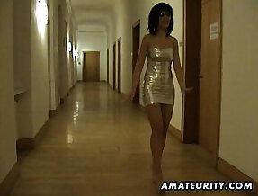 Amateur asian sucks fucks in a hotel room