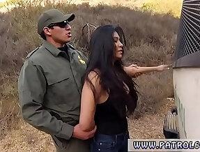 Fake taxi fucks police officer Stunning Mexican floozie Alejandra