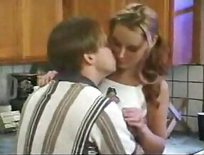 Kitchen Fucking her pussy With Teens