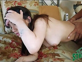 Teen anal Fucked By Her Step Brother And Boyfriend Blindfolded