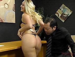 Loan Officer Makes Him Lick Ass To Get a Loan AJ Applegate