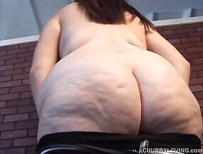 Super busty BBW thinks of you fucking her juicy pussy
