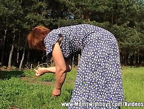 Outdoor Granny Fuck each other With their Sexy Ass