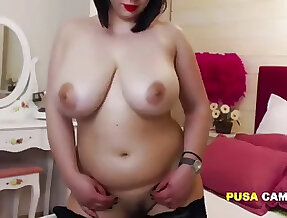 Adult with Huge Breast Saggy But so Beautiful and she is Maid!
