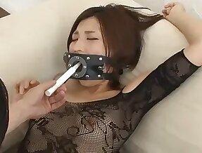 Nasty Asian wife Minami Natsuki loves having kinky sex with will not hear of man