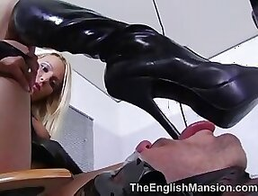 horny mistress Melissa Coloured with the addition of her slave