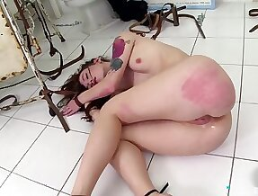 Severe exasperation scourging and anal sex for Misha Cross