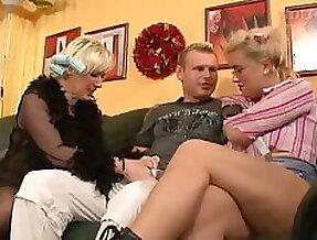 Vintage german orgy group hardcore fuck young old sluts film