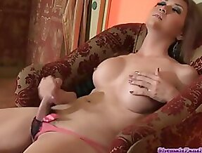 Best Shemale Ejaculations! - tranny porn video