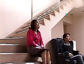 Japonese mother needs a hard cock