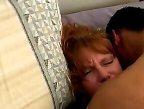 Granny thrilled by a big black cock