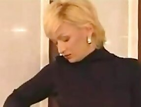 Name of Russian Blonde MILF Mature Step Mom?