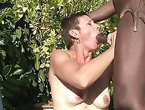 Four mature wifes getting fucked by the pool