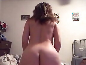 Thick Wife Rides Cock Hard