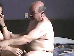 Indian prostitude girl fucked by oldman in hotel room.